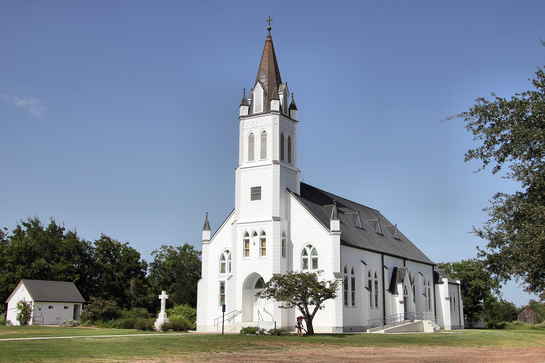 Saint John The Baptist Church Is One Of The Most Beautiful