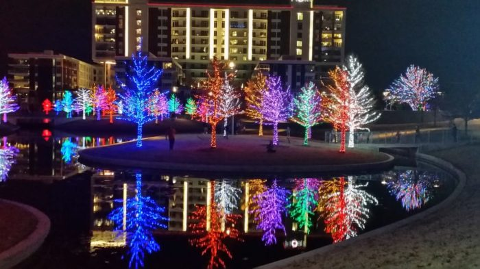 The Beautiful Christmas Lights Road Trip To Take In Dallas