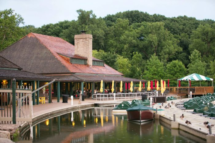 Forest Park Boathouse Restaurant
