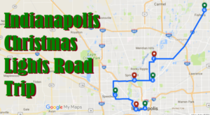 The Christmas Lights Road Trip Around Indianapolis That's Nothing Short Of Magical