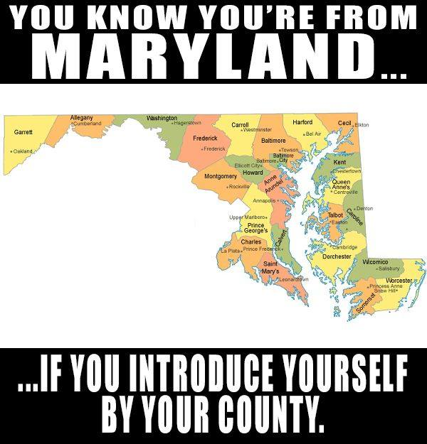 17 Hilarious Memes About Maryland