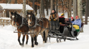 You'll Adore This New Hampshire Farm At Christmas Time. It's Absolutely Magical.
