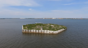 The Remnants Of This Abandoned Fort In Baltimore Are Hauntingly Beautiful
