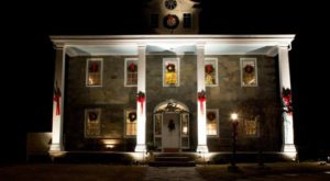 The Historic Rhode Island Home That's Pure Magic At Christmastime
