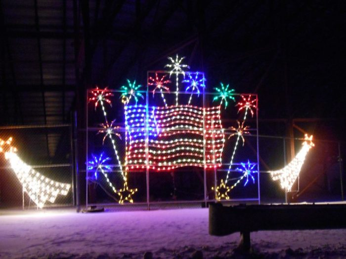 The new hampshire motor speedway 39 s gift of lights will for New hampshire motor speedway christmas lights