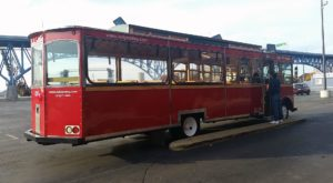 Board This Beautiful Holiday Trolley In Ohio For An Unforgettable Adventure