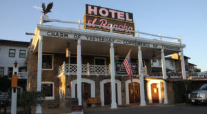 Spend The Night At This Historic New Mexico Hotel Where Hollywood Cowboys Used To Stay