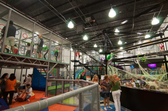 The Most Epic Indoor Playground In Florida Will Bring Out