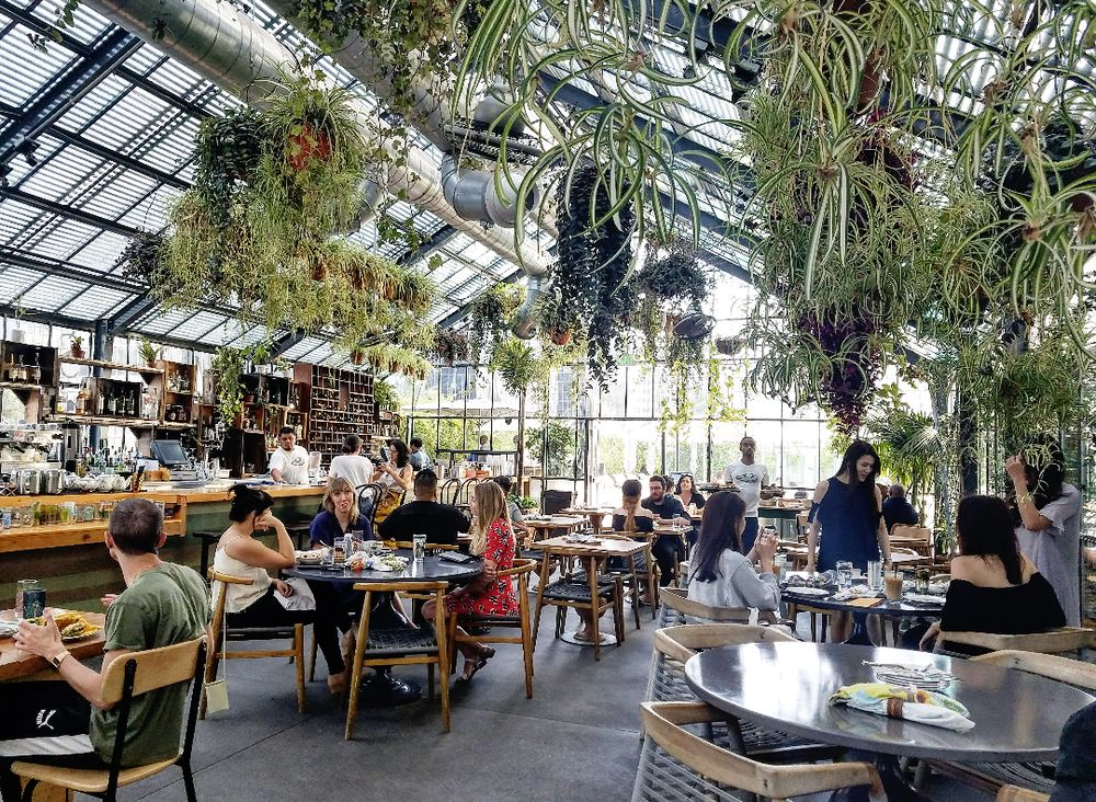 This Greenhouse Restaurant In Southern California Is The