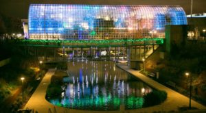 The Magical Oklahoma Garden That Comes Alive With Light Each Winter