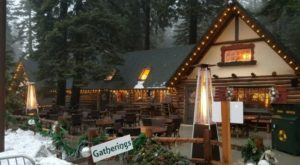 The Remote Cabin Restaurant In Southern California That Feels Just Like Home