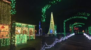 The Christmas Village In Ohio That Becomes Even More Magical Year After Year