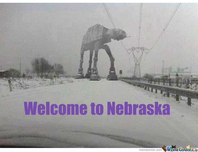 Funny Memes For Snow : Funniest memes about nebraska