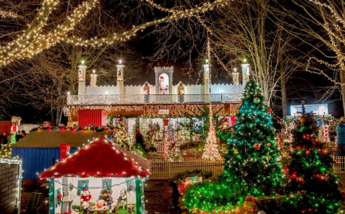 Stone Zoo is brimming with the spirit of the season. - ZooLights At Stone Zoo Is Best Winter Lights Display In Boston