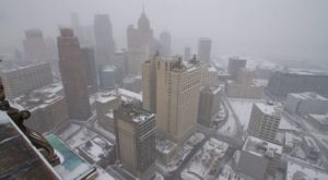 A Massive Blizzard Blanketed Detroit In Snow In 1974 And It Will Never Be Forgotten