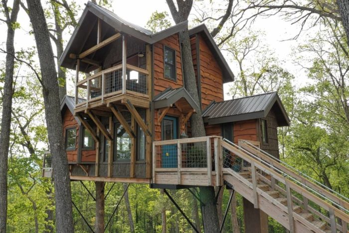 The Treehouse Rental In North Carolina That S Beyond Your