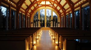 The Chapel Near Dallas That's Located In The Most Unforgettable Setting