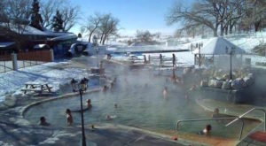 Utah's Naturally Heated Outdoor Pool Is All You Need This Winter
