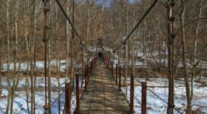 The Terrifying Swinging Bridge Near Baltimore That Will Make Your Stomach Drop