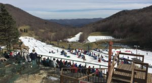 This Epic Snow Tubing Hill In North Carolina Will Give You The Winter Thrill Of A Lifetime