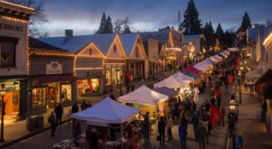 The Christmas Village In Northern California That Becomes Even More Magical Year After Year