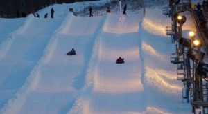 This Epic Snow Tubing Hill In Ohio Will Give You The Winter Thrill Of A Lifetime