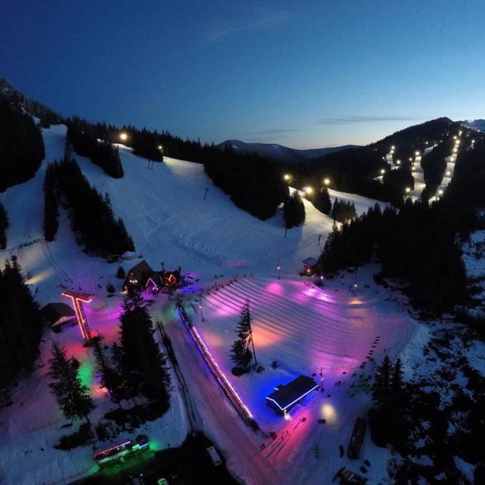 Mt Hood Skibowl Is Best Snow Tubing Hill Near Portland