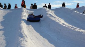 This Epic Snow Tubing Hill Near Milwaukee Will Give You The Winter Thrill Of A Lifetime