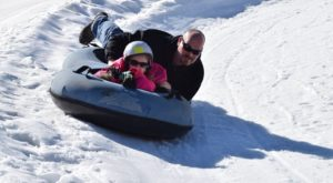 This Epic Snow Tubing Hill In Connecticut Will Give You The Winter Thrill Of A Lifetime