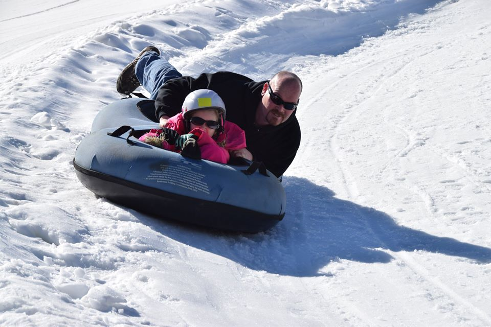 This Epic Snow Tubing Hill At Woodbury Ski Area In