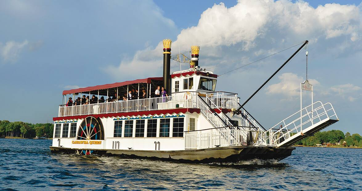 The Catawba Queen Is A Riverboat Cruise On Lake Norman In North Carolina
