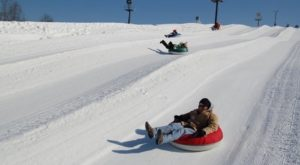 This Epic Snow Tubing Hill Near Louisville Will Give You The Winter Thrill Of A Lifetime