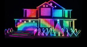 The Mesmerizing Christmas Display In Minnesota With Over 17,000 Glittering Lights