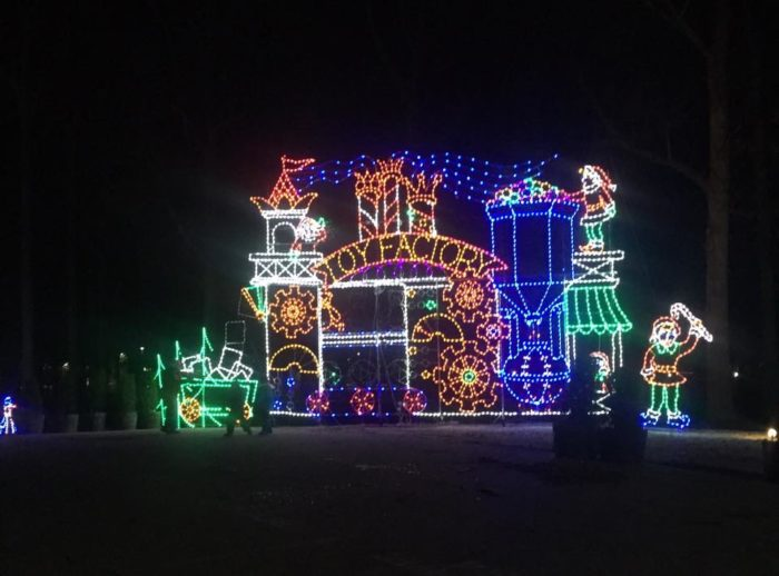 7 best christmas light displays around baltimore 2017 facebook symphony of lights festivities the grounds of merriweather post pavilion aloadofball Images