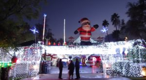 The Fantastical Christmas Display In Southern California That Is Out Of This World