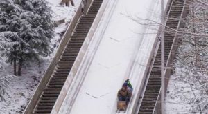 The Toboggan Park In Ohio That Will Make Your Winter Unforgettable