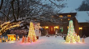 This Chicago Neighborhood Home Is Pure Magic During Christmastime