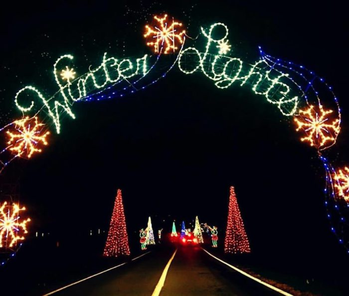 7 best christmas light displays around baltimore 2017 winter lights at seneca creek state park aloadofball Images