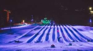 This Epic Snow Tubing Hill In Oregon Will Give You The Winter Thrill Of A Lifetime
