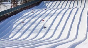 This Epic Snow Tubing Hill Near Minneapolis – Saint Paul Will Give You The Winter Thrill Of A Lifetime