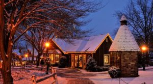 The Christmas Village Near Philadelphia That Becomes Even More Magical Year After Year