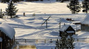 The Hidden Hot Springs In Idaho You Can Only Access By Snowmobile