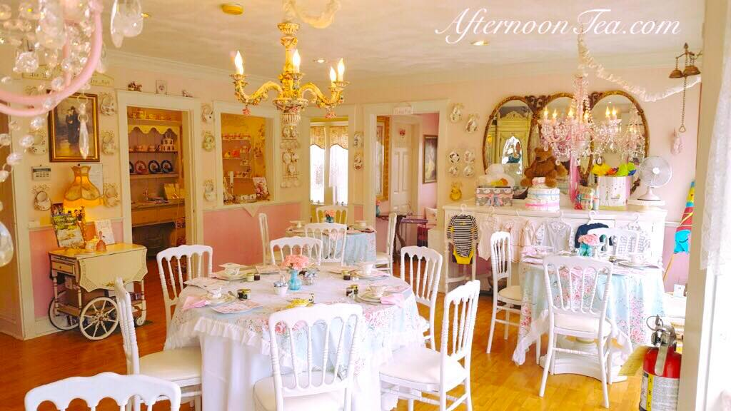 The Whimsical Tea Room In Massachusetts That S Like