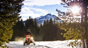 One Of The Best Snowmobiling Spots In The Country Is Right Here In Wyoming