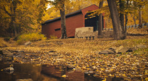 10 Beautiful Covered Bridges Around Philadelphia That Remind Us Of A Simpler Time