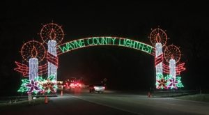 You'll Love The Dreamy Ride Through The Largest Drive-Thru Light Show In Michigan