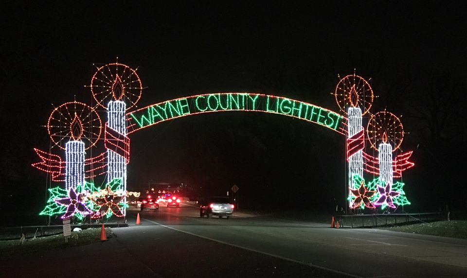 Lightfest Is Largest Drive Thru Light Display In Michigan