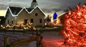 The North Dakota Farm That Transforms Into A Christmas Wonderland