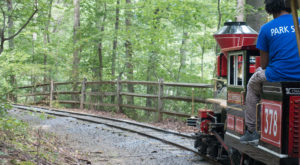 There's A Little-Known, Fascinating Train Park In Maryland And You'll Want To Visit