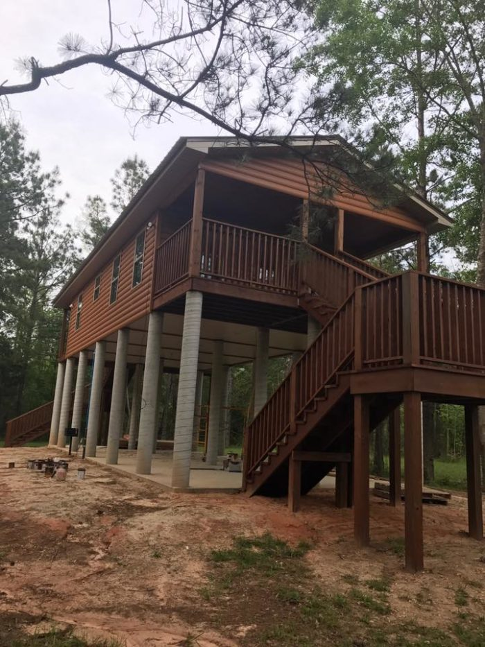 5 of the coziest cabins in louisiana to snuggle up in this for Fishing cabins in louisiana
